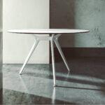 Arkitek-tafel-rond- wit-frame-wit-blad